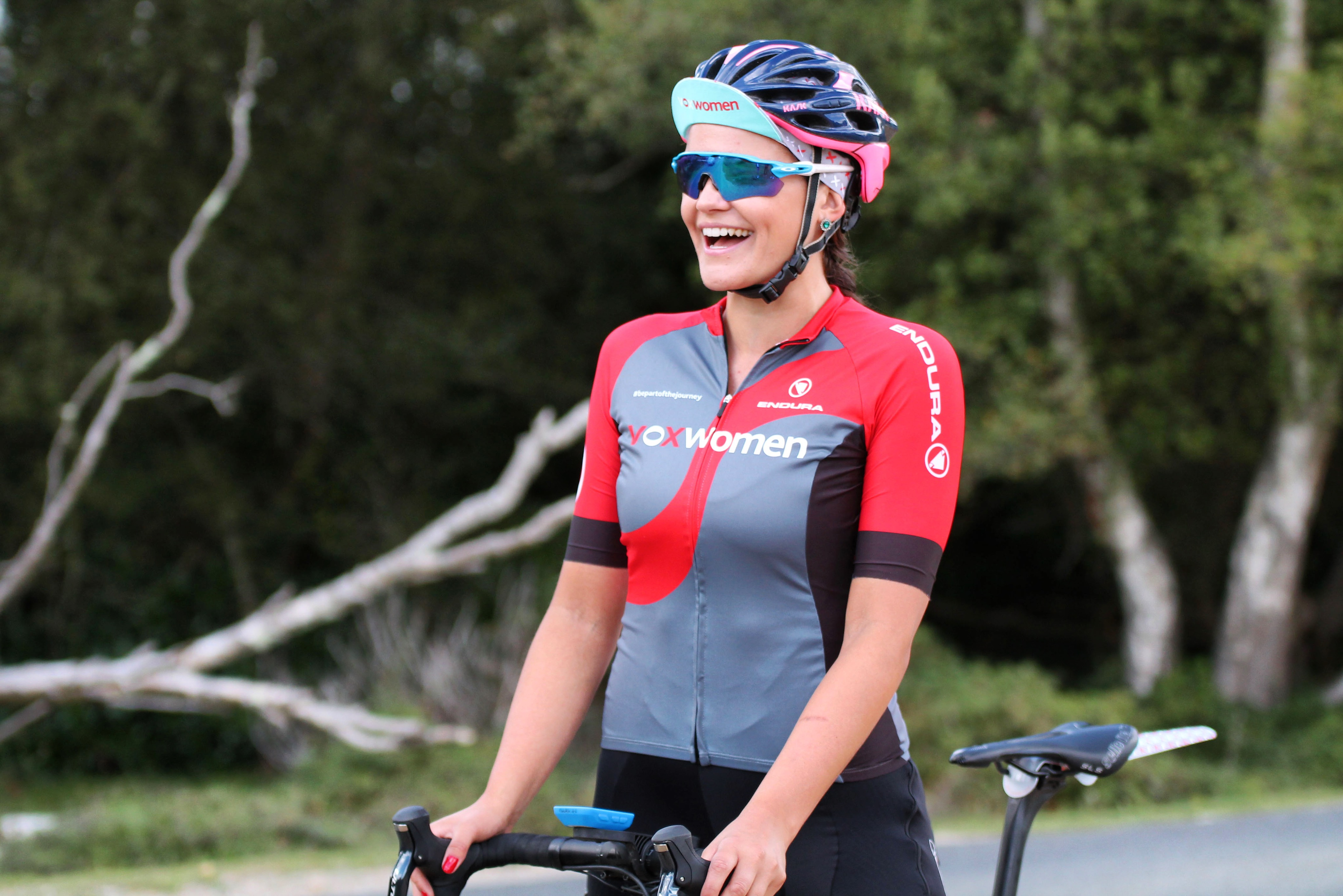 Laura Winter – Finding happiness watts in Zwift Academy