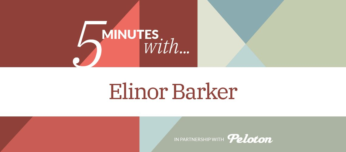 Voxwomen_5 minutes with...Elinor Barker